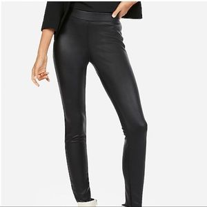 Express Women's Faux Leather Leggings (M)